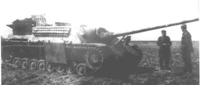 Panzer IV/70 (V), right side