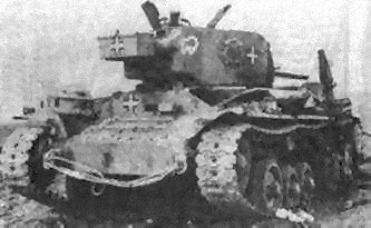 "Infantry Tank Mk III ""Valentine"" in German service"
